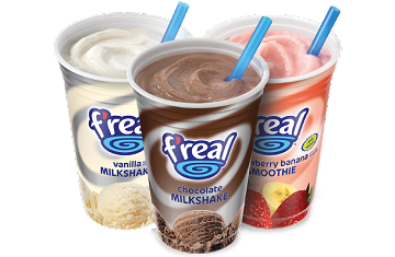 The Leisure Food & Beverage : F'real: Extra Thick Shakes, Smoothies & Frappes Simplified